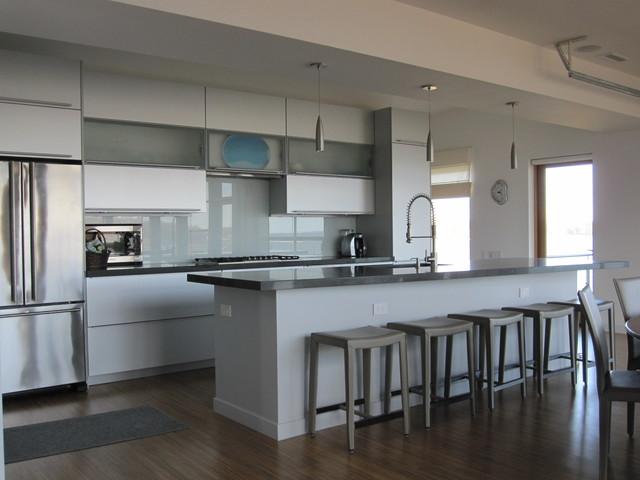 bay house modern-kitchen
