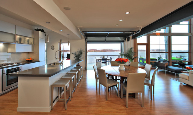 Bay House Modern Kitchen Dc Metro By Gardner Mohr