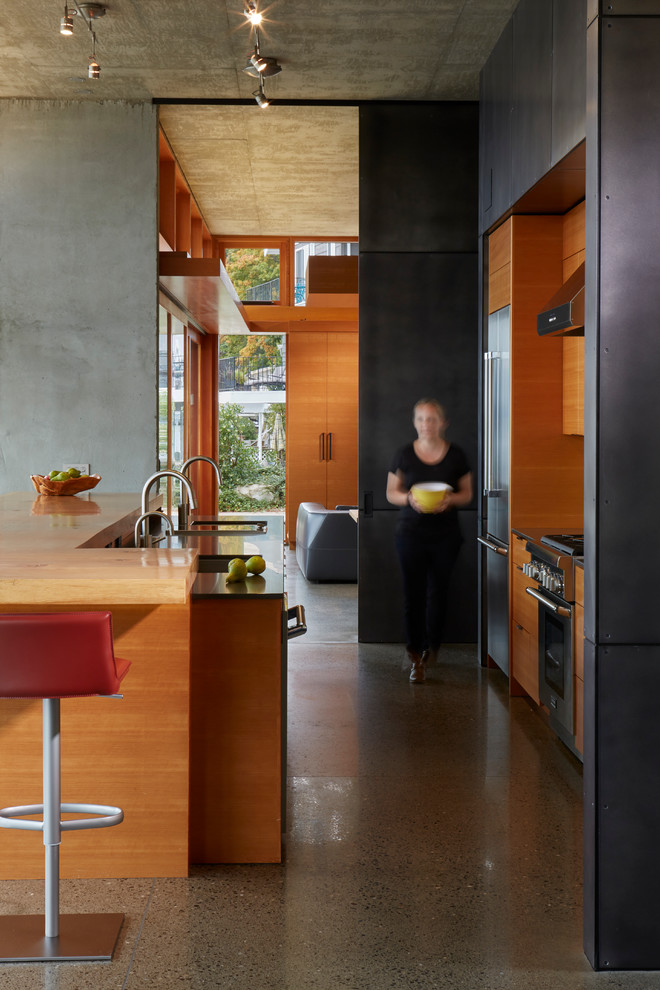 Bay House - Contemporary - Kitchen - Seattle - by ...