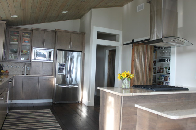 Bay House remodel contemporary-kitchen