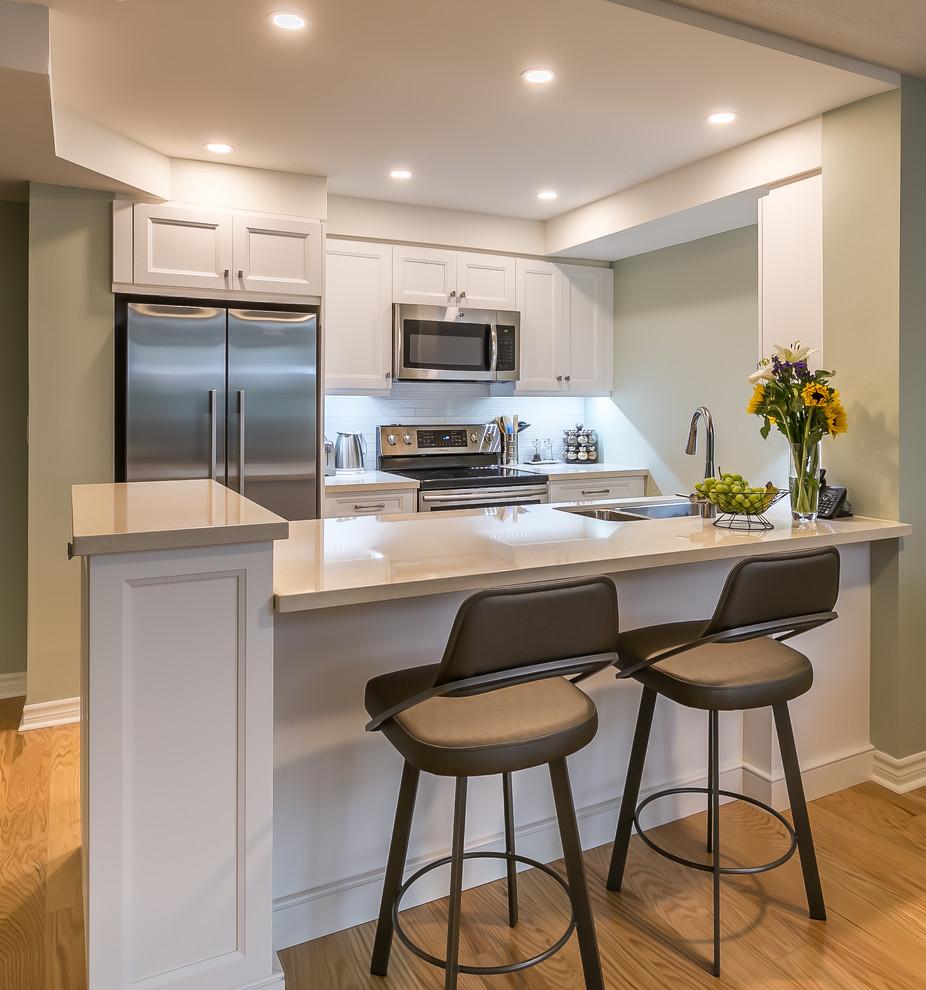 bay transitional condo kitchen  transitional  kitchen