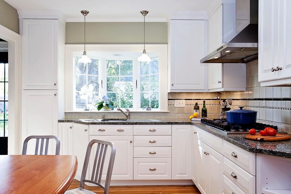Bay Window Over Kitchen Sink Traditional Kitchen Bridgeport By Kitchen Bath Design Construction