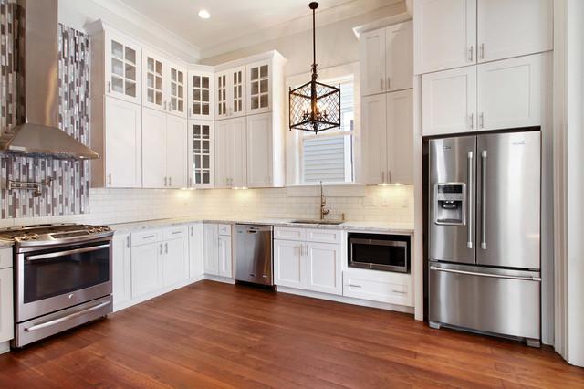 Bayou St John Single Family Renovation Contemporary Kitchen