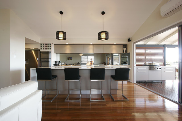 Bayside living contemporary kitchen other metro by - Holzdecke modern ...