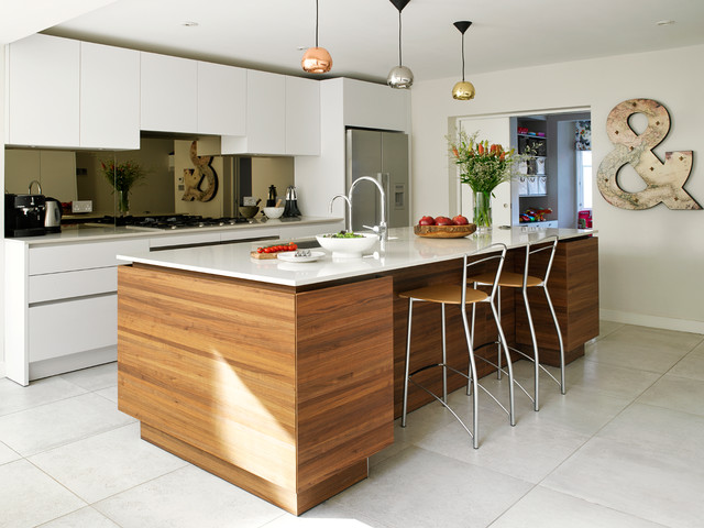 Bayswater Family Home - Contemporary - Kitchen - London - by Clare ...