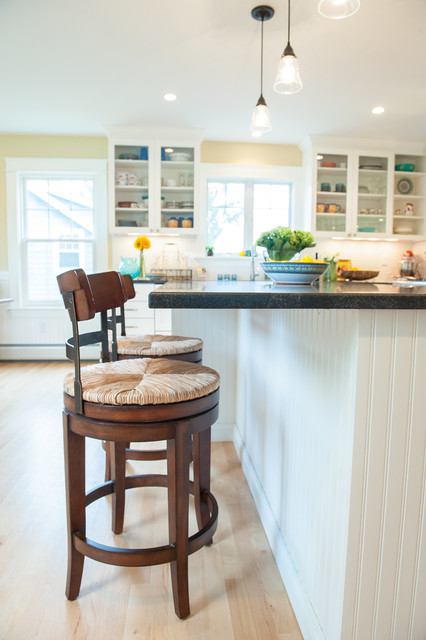 Bayview traditional kitchen portland maine by steinberg custom designs - Kitchen design portland maine ...