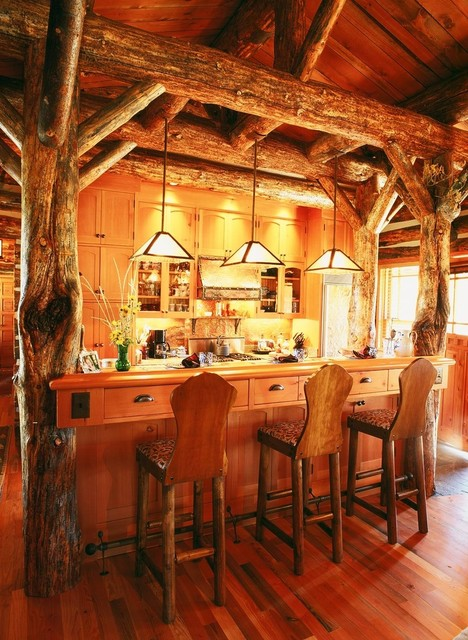 BB Ranch traditional-kitchen