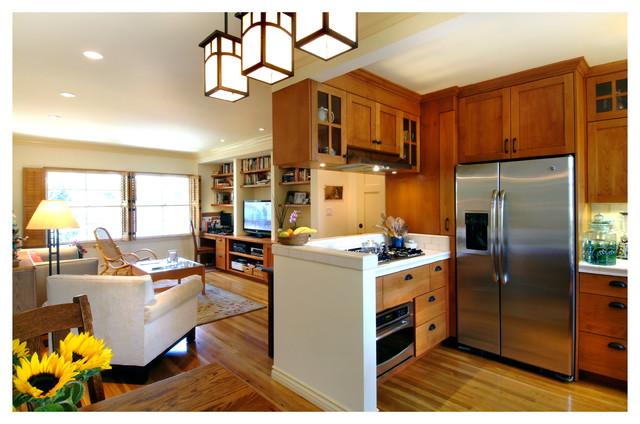 Beach Condo beach-style-kitchen