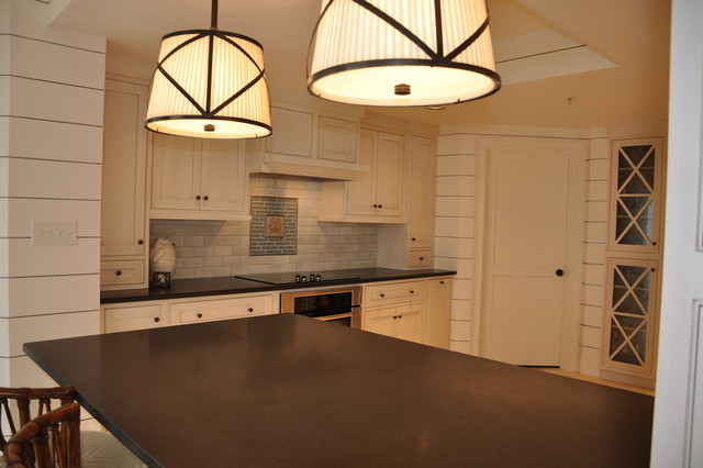 Beach condo beach style kitchen atlanta by for Beach condo kitchen ideas