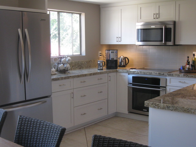 Beachfront Condo Renovations : Beach condo kitchen remodel style los
