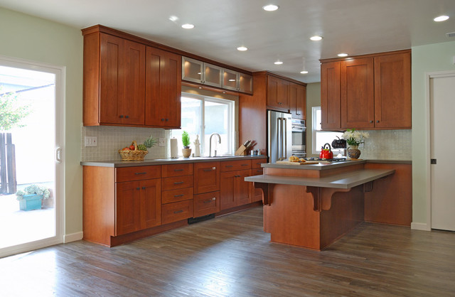 beach contemporary contemporary-kitchen