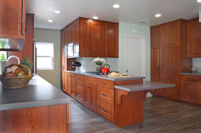 Beach Contemporary Contemporary Kitchen Other By South Bay Design Center