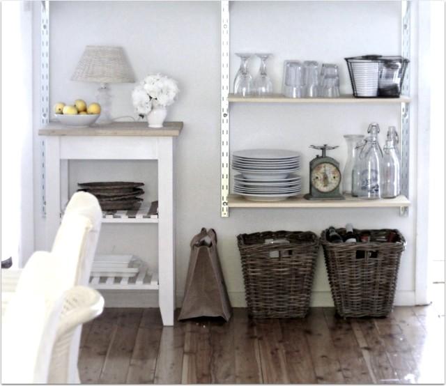 Beach Cottage Kitchen Decor: Beach Cottage Breakfast Room Open Industrial Style