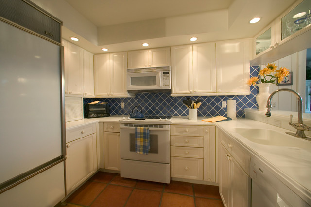 Beach Cottage Condo Beach Style Kitchen Miami By
