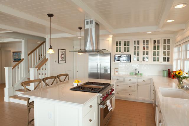 Beach cottage beach style kitchen seattle by sykora home design - Seattle kitchen design ...