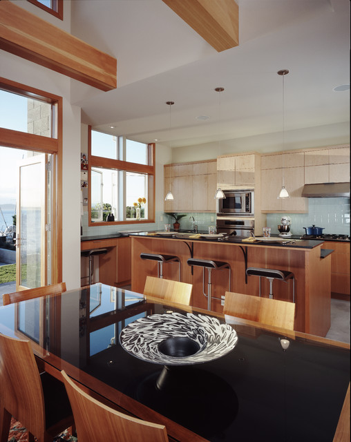Beach Drive Residence contemporary kitchen