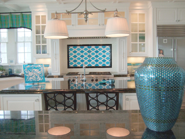 Beach Home Backsplash modern kitchen