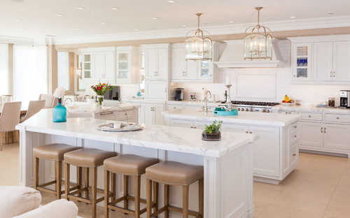 Seeing Double The Double Kitchen Island Abode
