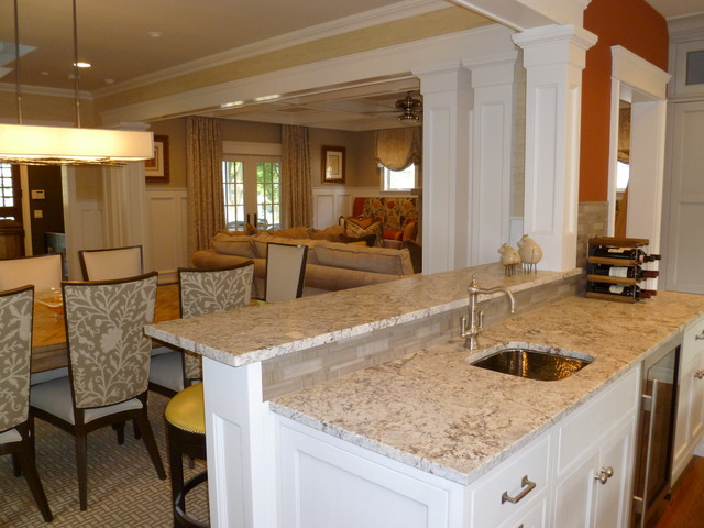 Beach House 'A'' traditional-kitchen