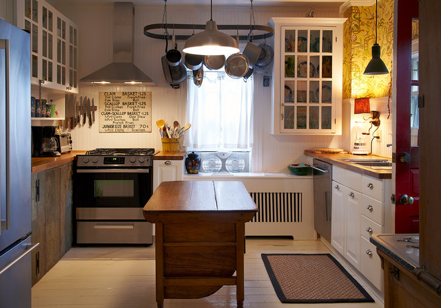 eclectic kitchen by Ken Gutmaker Architectural Photography