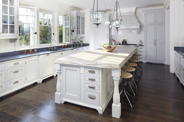 Beach House-Kiawah Island beach-style-kitchen