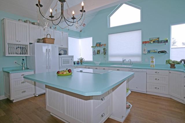 Beach House contemporary-kitchen