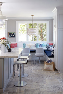 Beach House Kitchen Coastal Kitchen New York by