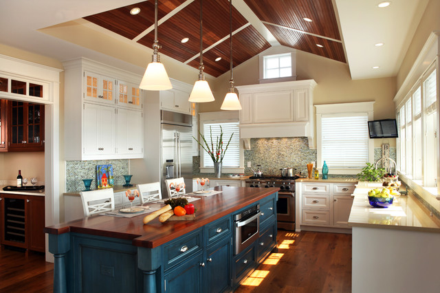 Beach House Kitchens - Beach Style - Kitchen - Philadelphia - by Asher ...