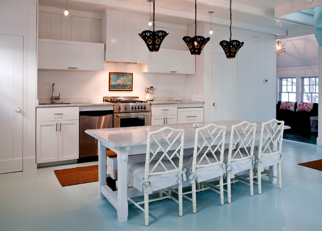 Beach House Kitchens Beach Style Kitchen Philadelphia by
