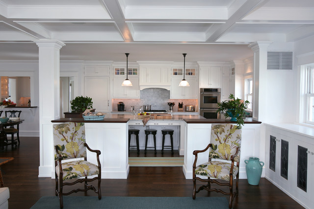 Beach house kitchens beach style kitchen philadelphia by asher associates architects Kitchen design center virginia beach