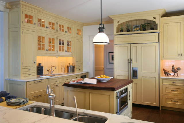 Beach house kitchens beach style kitchen - Kitchen cabinets philadelphia ...