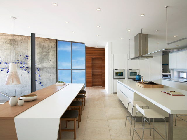 Beach House On Long Island Modern Kitchen New York By West Chin Archi