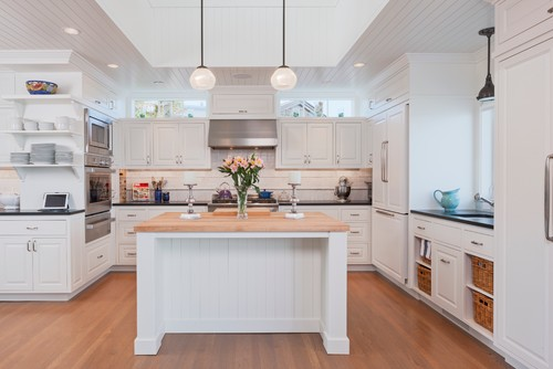 Beach Style Kitchen by Seattle Architects & Building Designers Scott Becker | Architect