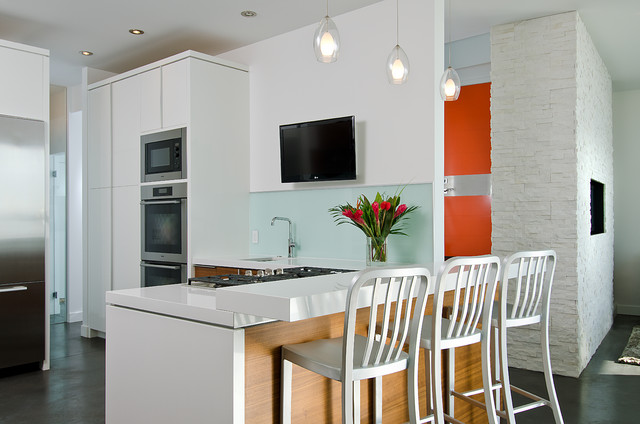 Beach Kitchen Contemporary Kitchen Vancouver By