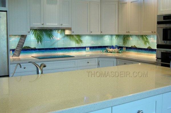 Beach Kitchen tropical kitchen