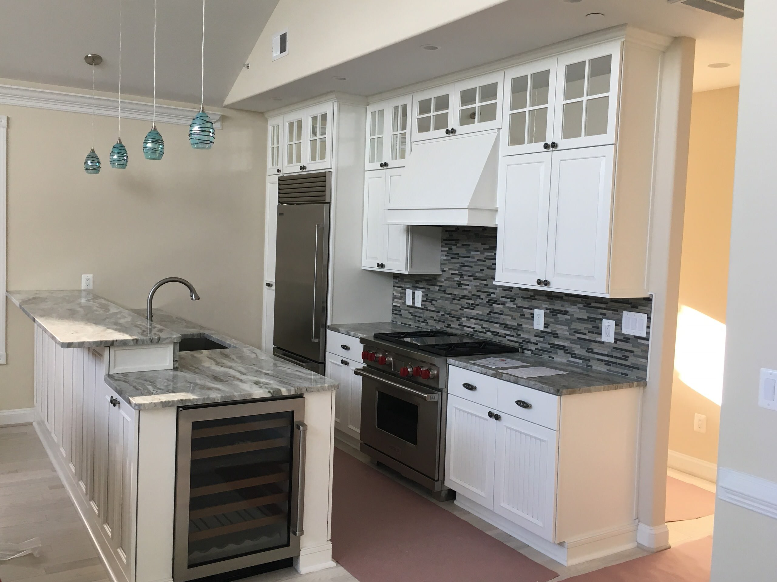 Beach Living Kitchen