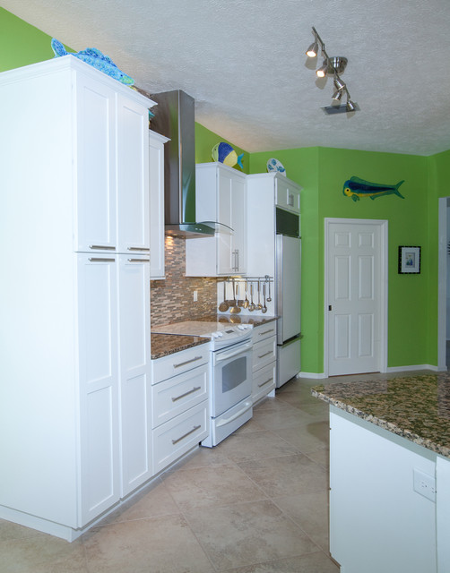 Nelson Kitchen Beach Style Kitchen Tampa By