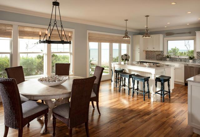 Waterfront Update beach-style-kitchen