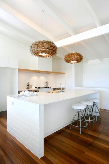 beachfront renovation maritim k che sunshine coast von carole tretheway design. Black Bedroom Furniture Sets. Home Design Ideas