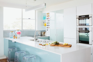 Beachside Apartment - Beach Style - Kitchen - Sydney - by The Home