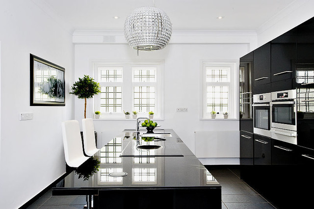 Beachside villa contemporary kitchen london by for Villa interior designers ltd nairobi kenya