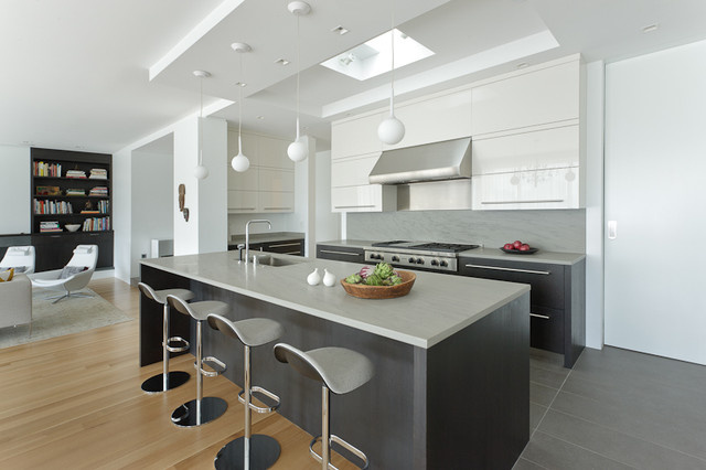Beacon Street Modern Kitchen Boston By Venegas And Company