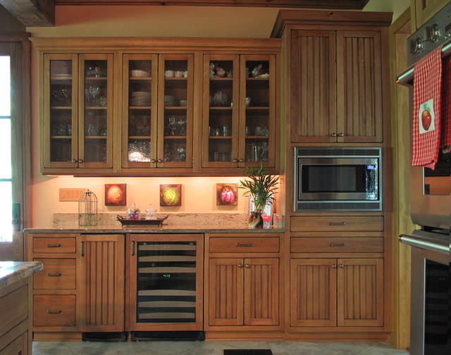 Beaded Cypress - Traditional - Kitchen - New Orleans - by ...