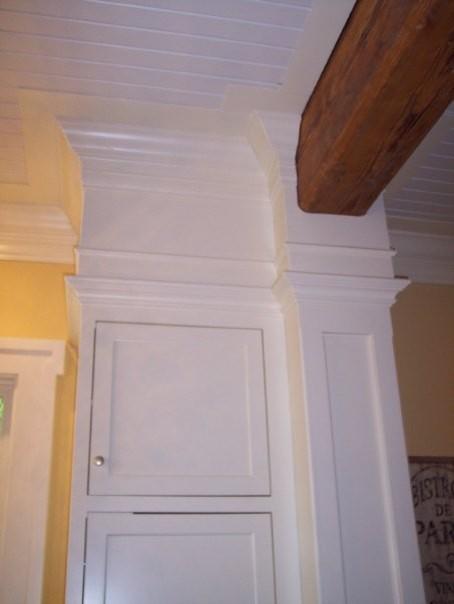 beams traditional-kitchen