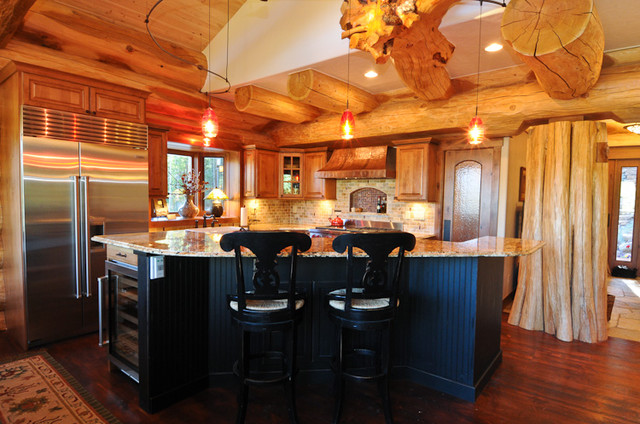 East Texas Log Cabin Small House Swoon besides Modern Chalet Style Home Plans as well Tranquility Mountain House Plan likewise A Dream House With Wow Effect likewise Country Kitchen Ideas. on rustic mountain home interior design