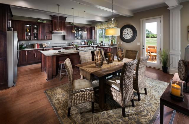 Bear Creek Neighborhood Model Home Traditional Kitchen