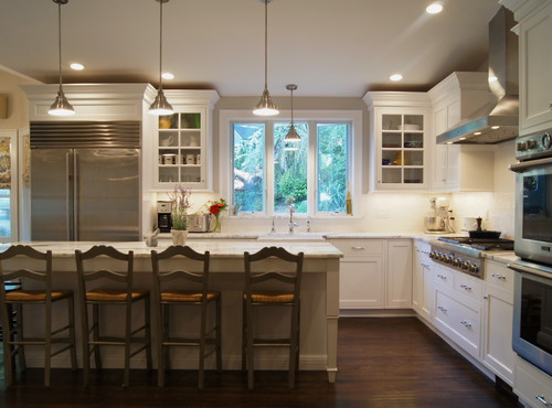 What Color Are The Kitchen Cabinets? Arctic, Diamond Or White Dove?