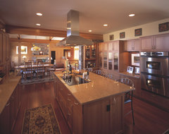 Beartooth Ranch house contemporary kitchen