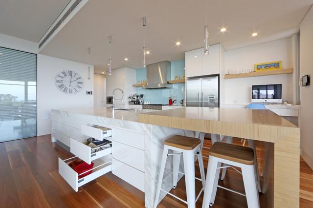 Beaumaris Contemporary Kitchen Melbourne By Melbourne Contemporary Kitchens