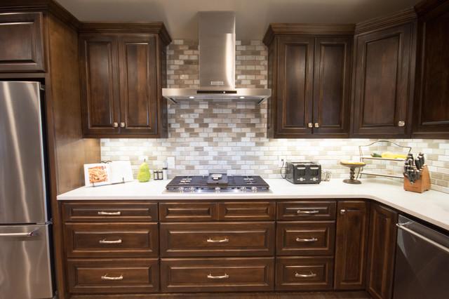 Trendy kitchen photo in Dallas